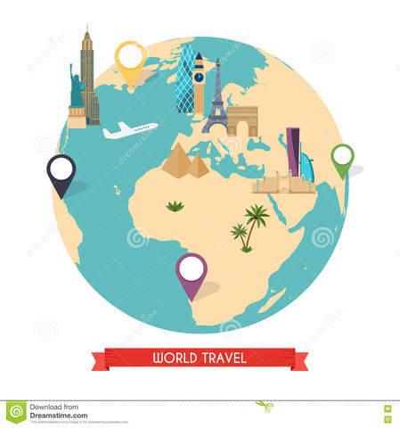 Viajes en el mundo
