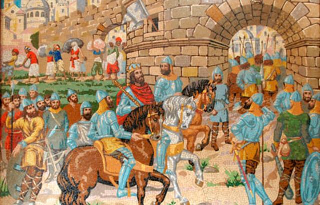 Conquista de Valencia por Jaime I