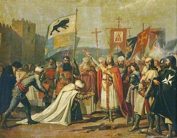 Conquista de Sevilla por Fernando III
