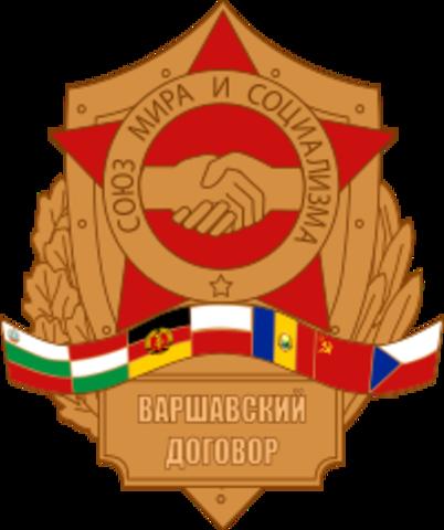 Warszawapakten nedlegges
