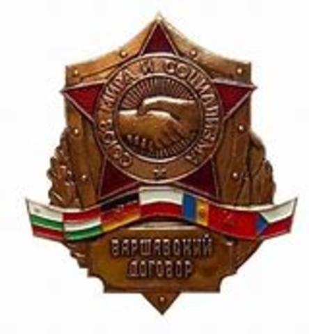 Warszawapakten dannes