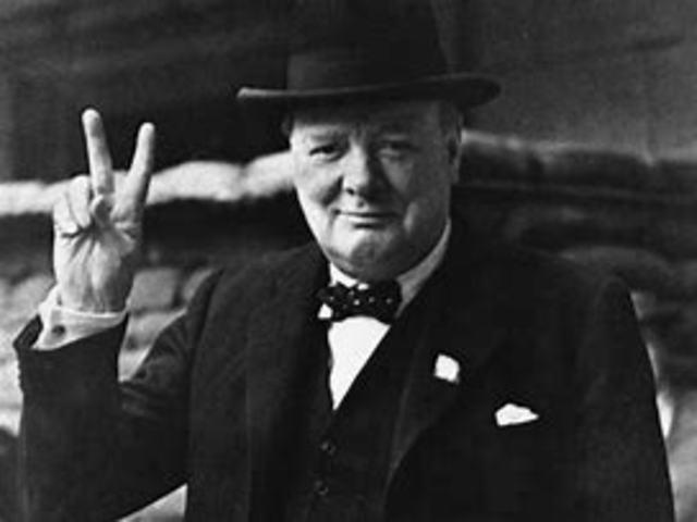 Churchill's jernteppe tale