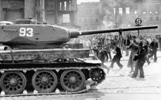 Opptøyer i Øst-Berlin