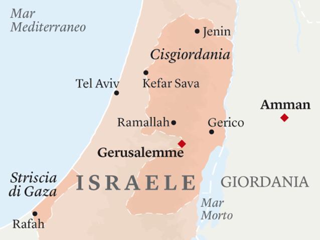 GAZA E CISGIORDANIA