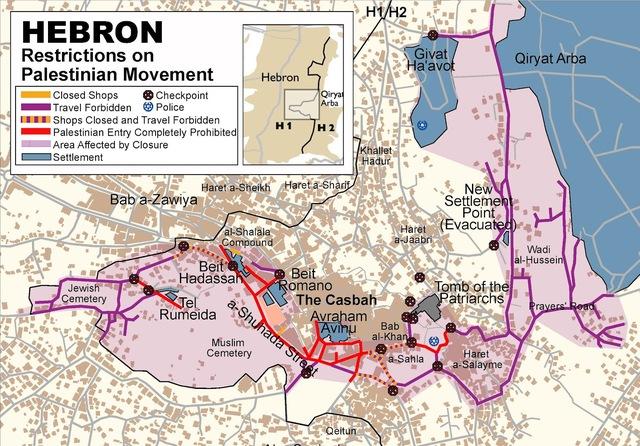 EVACUAZIONE HEBRON