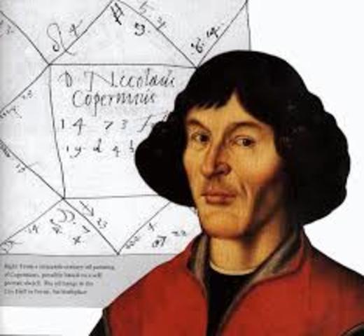 Nicolas Copernico (1473 a 1543, Polonia)