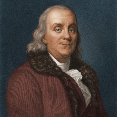 Benjamín Franklin (1706−1780) Norteamericano