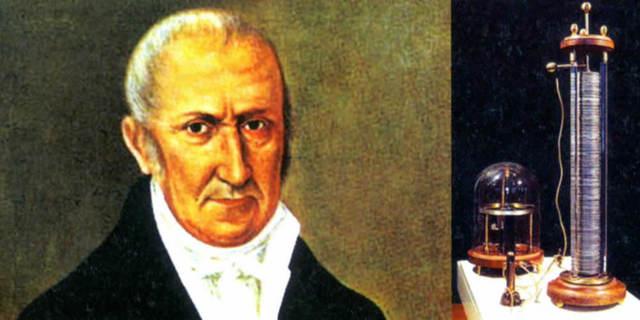 Alessandro Volta (1745−1827) Italiano