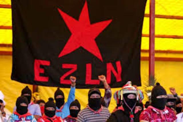 Inicia la rebelion del Ejercito Zapatista  de Liberacion Nacional (EZLN)