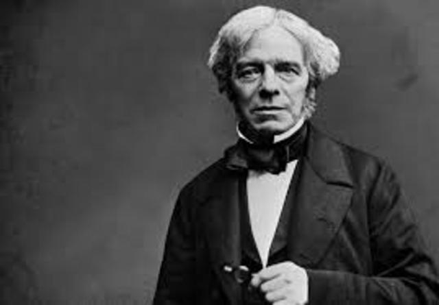 Michael Faraday (1791−1867) Inglés