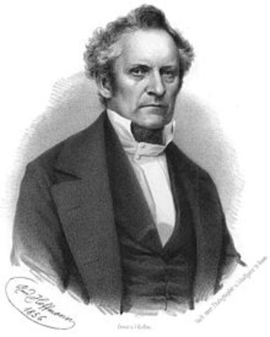 Julius Plücker (1801−1868) Alemán
