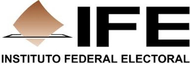 El instituto federal electoral (IFE) se hace independiente