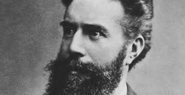 Wilhelm Conrad Roentgen (1845−1923) Alemán