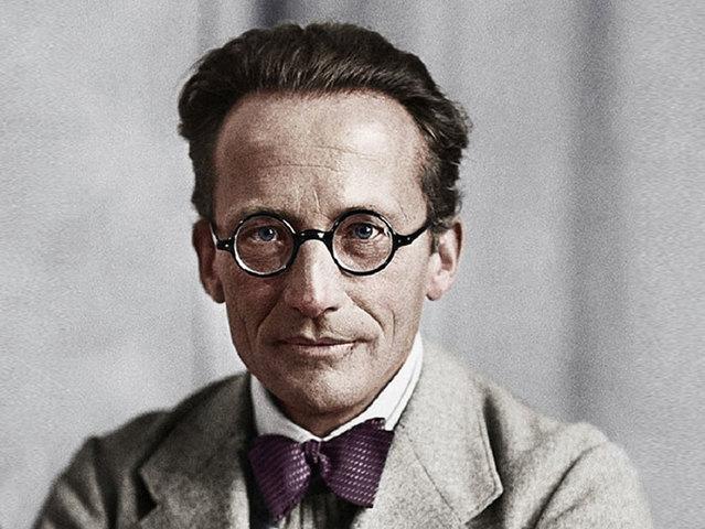 Erwin Schrödinger (1887−1961) Austríaco