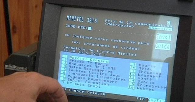 France Telecom inventa Minitel