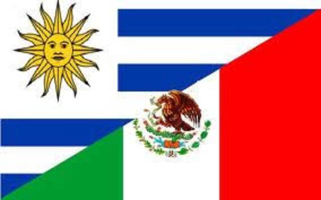 Entra el tratado de libre comercio entre Mexico y Uruguay