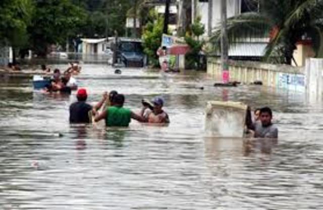 Desastres naturales en Chiapas y Tamaulipas