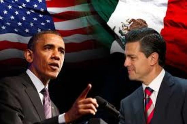 Visita del Precidente de los EU a Mexico, Barack Obama