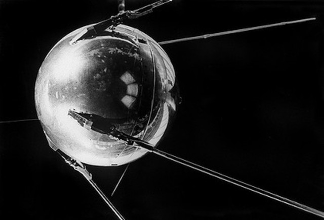 RUSSIA LAUNCHES SPUTNIK TO SPY ON US