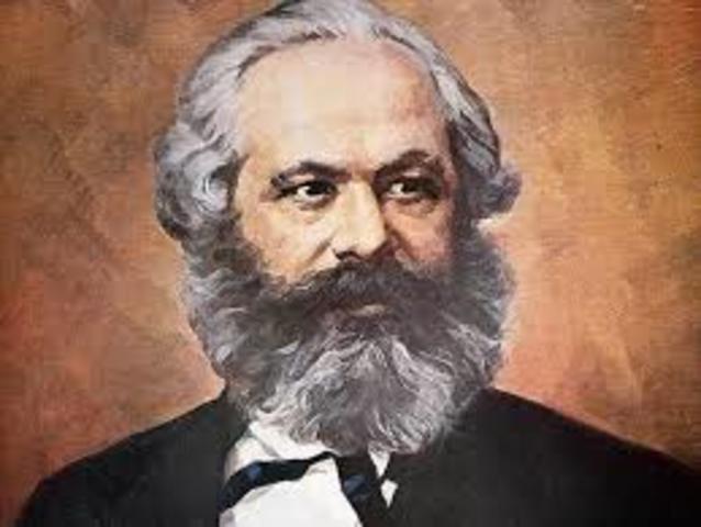 como afirmó, Carlos Marx