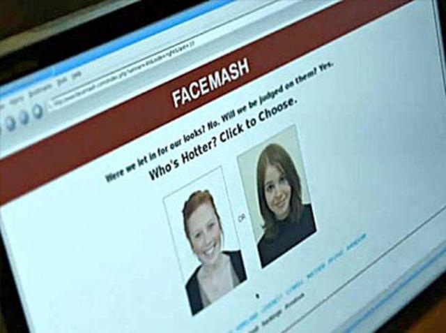 Facebook comienza como un sitio web