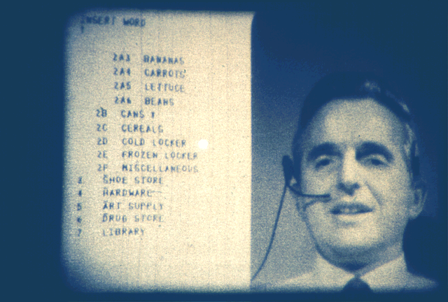 Douglas Engelbart, Stanford Research Lab.