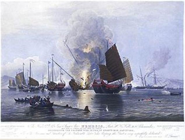 First Opium War
