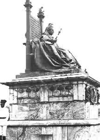 Declaration of Victoria Queen