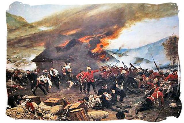 The battle of Rouke's Drift : Anglo-Zulu-war