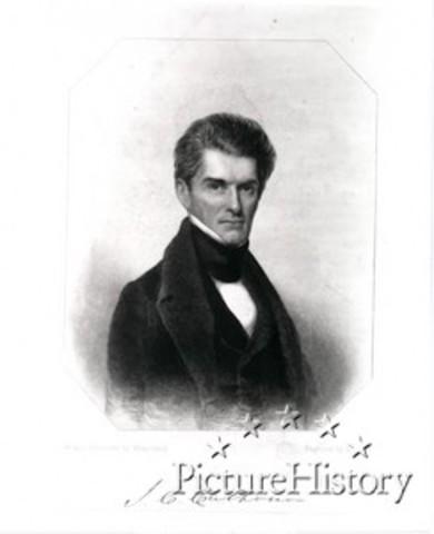John C. Calhoun Becomes Vice President