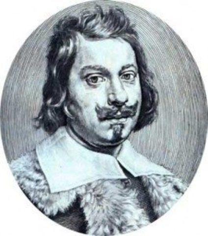 Evangelista Torricelli. Invención del barómetro.