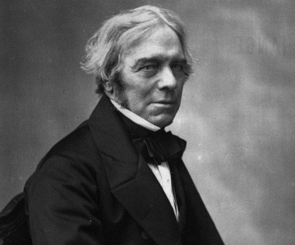 Michael Faraday. Descubrimiento de la inducción electromagnética, el diamagnetismo y la electrólisis.
