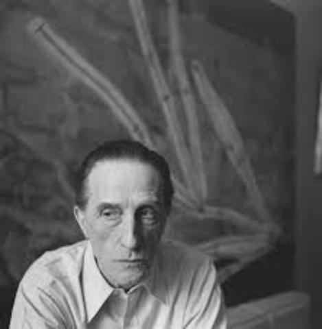 Death of Marcel Duchamp
