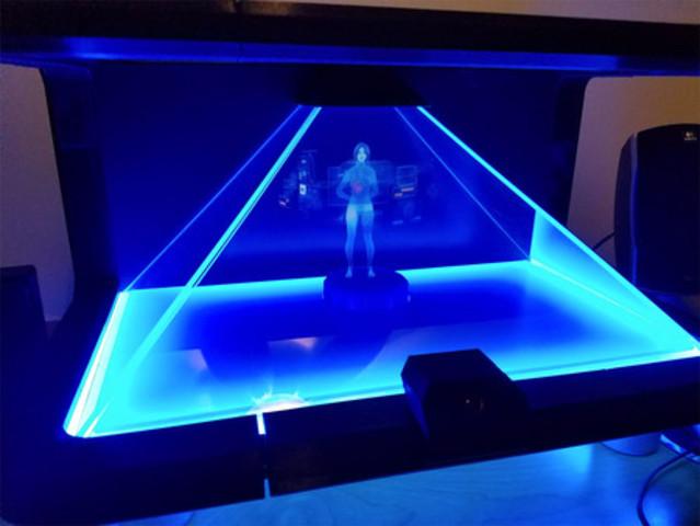 Sistemas holográficos.