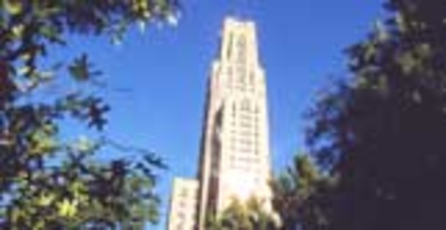 Going to college  University of Pittsburgh