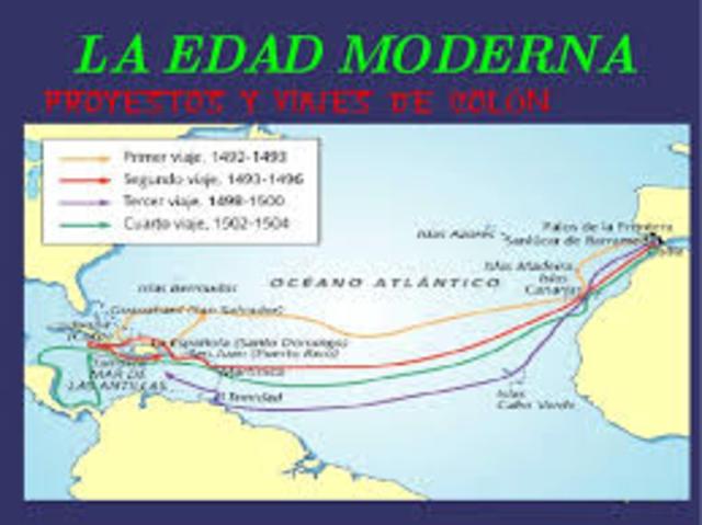Viajes Edad Moderna