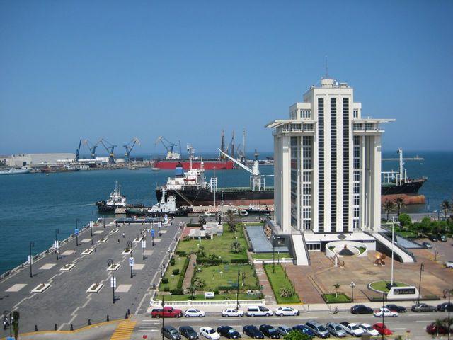 Instalaciones portuarias.