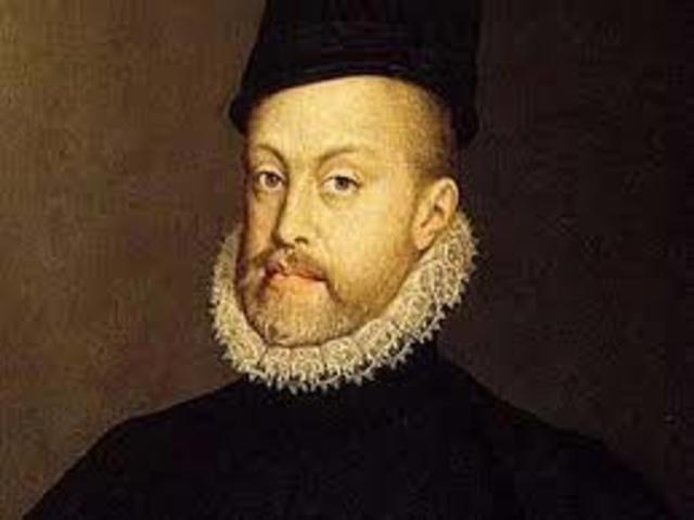 Felipe II, por medio de una Cédula Real, ordenó restringir el volumen de la carga comercial