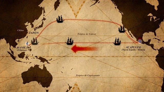 Se elaboró el primer reglamento para el tráfico comercial entre Filipinas y la Nueva España.