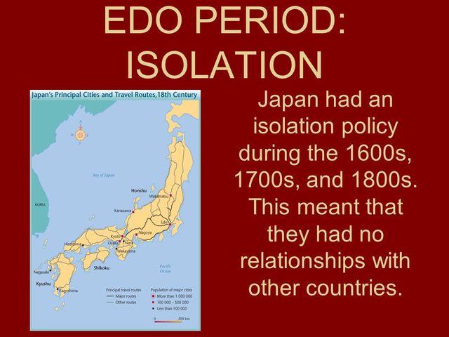 15.3: Japan: Isolation