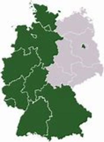 Dannelsen av vest-tyskland