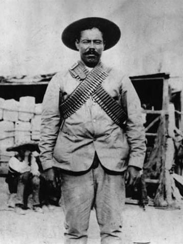 The revolt of Pancho Villa