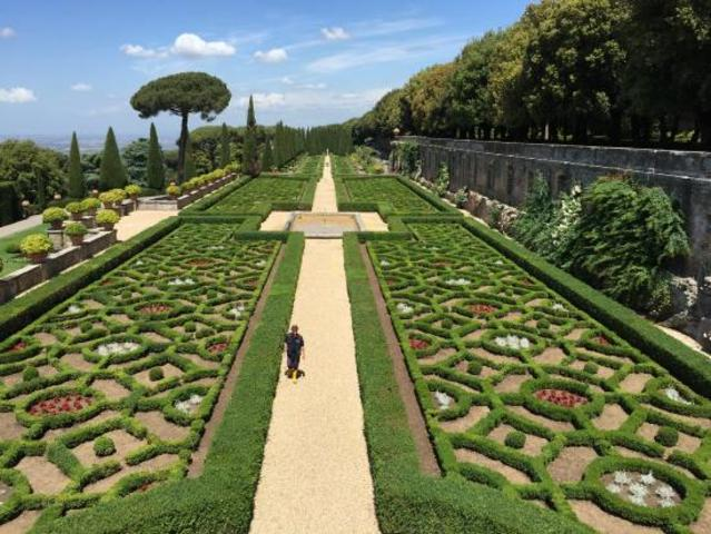 Castel Gandolfo Villa Barberini