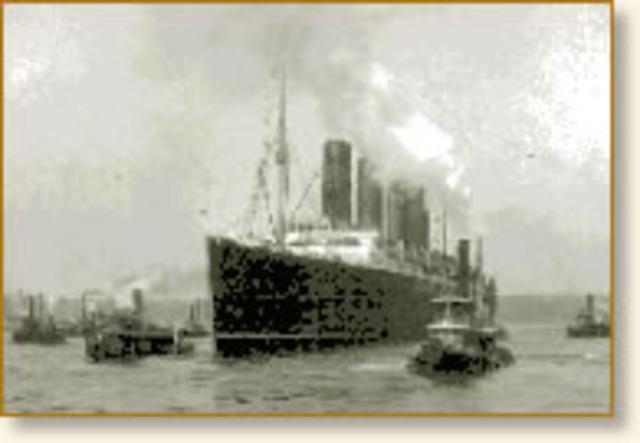 U-Boats Sink Lusitania
