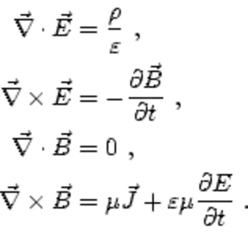 JAMES CLERK MAXWELL y sus 4 ecuaciones