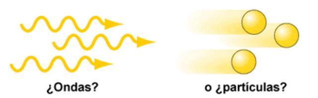 Se confirma la dualidad ondapartucular de la luz.