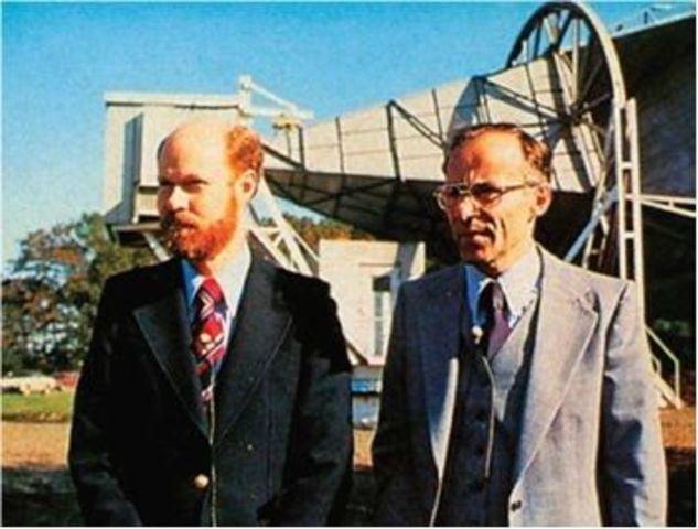 Arno Penzias y Robert Wilson.