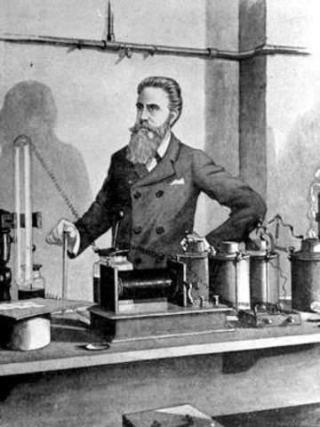 Wilhelm Röntgen.