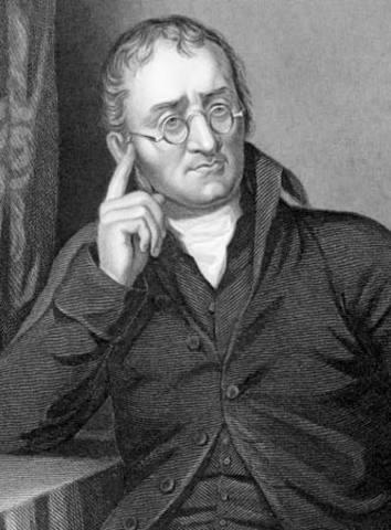 John Dalton. Teoría del átomo o atómica