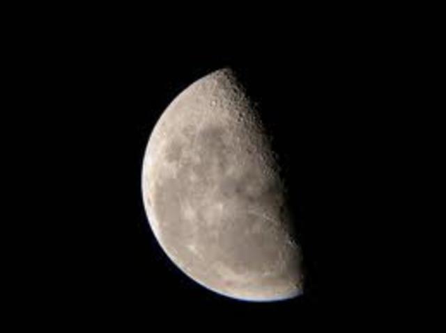 Day 24: 3rd Quarter Half Moon